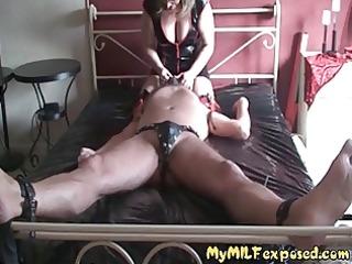 my milf stripped - mature slut in lingerie