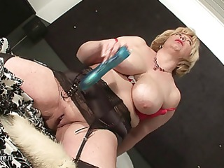 large titted mama sucking wang and getting cum