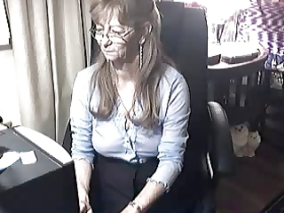 lovely granny with glasses 9