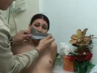 charming milfs bound and silenced with pants
