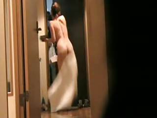 japanese wife flashing delivery guy 9