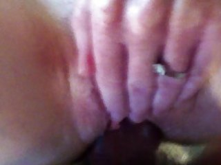 wife enjoys big thick cock.