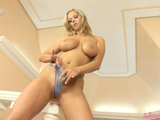 breasty sheila grant fucks her pussy hard