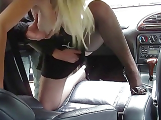 blond d like to fuck in car group engulf