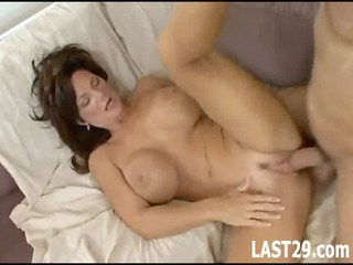 busty d like to fuck receives her pussy filled
