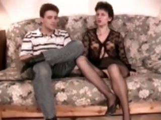 hairy aged analfucked in nylons